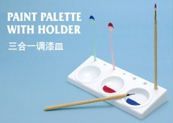 Paint Palette with Holder