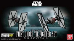Bandai Vehicle Model 004: First Order Tie Fighter™ Set