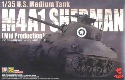 Us Medium Tank M4A1 Sherman Mid Production