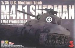 Us Medium Tank M4A1 Sherman Mid Production