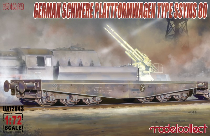 Germany Schwerer plattformwagen type ssyms 80