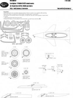 Eurofighter TYPHOON BASIC kabuki masks