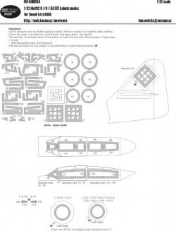 Me 262 B-1/U-1 BASIC masks