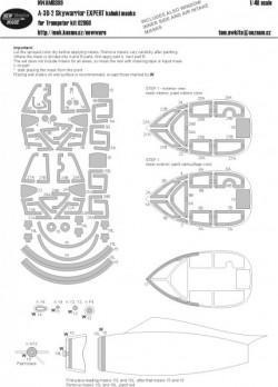 A-3D-2 Skywarrior EXPERT kabuki masks