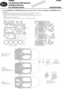 A-6E (TRAM) Intruder EXPERT kabuki masks
