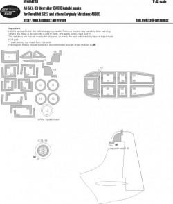 AD-5 (A-1E) Skyraider BASIC kabuki masks
