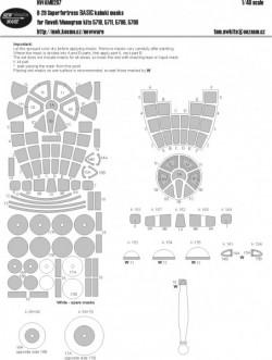 B-29 Superfortress BASIC kabuki masks