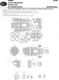 Do 215B-4 BASIC kabuki masks