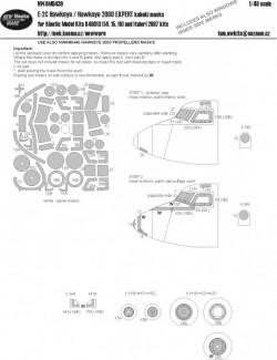 E-2C Hawkeye / Hawkeye 2000 EXPERT kabuki masks