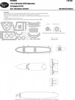 EA-18G Growler BASIC kabuki masks