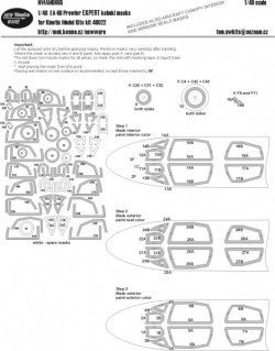 EA-6B Prowler EXPERT kabuki masks