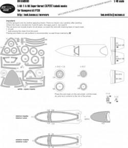 F/A-18E Super Hornet EXPERT masks