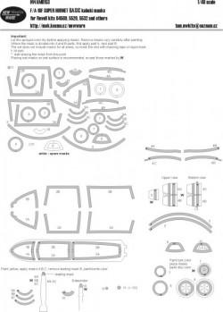 F/A-18F Super Hornet BASIC kabuki masks