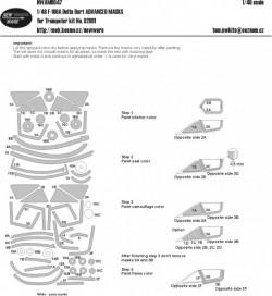 F-106A Delta Dart ADVANCED MASKS