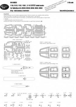 F-111A, FB-111A, F-111C, F-111D/E, EF-111 EXPERT kabuki masks