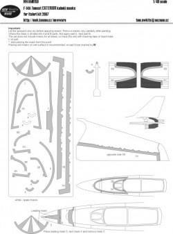 F-14A Tomcat EXTERIOR kabuki masks