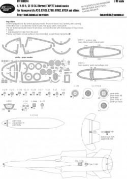 F-18A, CF-18(A) Hornet EXPERT kabuki masks