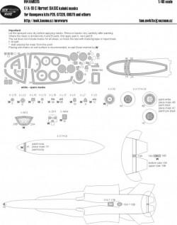 F-18C Hornet BASIC kabuki masks