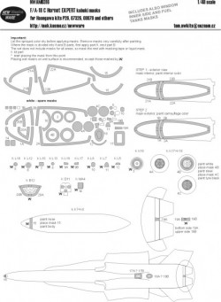 F-18C Hornet EXPERT kabuki masks