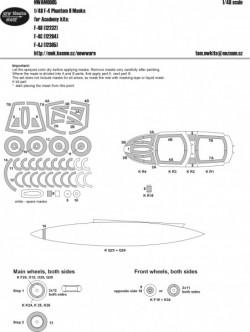 F-4 Phantom II masks