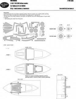 F7-U3/3M Cutlass masks
