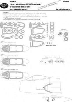 F9F-2 and F9F-3 Panther ADVANCED kabuki masks
