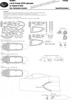 F9F-2P Panther EXPERT kabuki masks