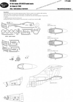 Folland Gnat T.1 BASIC MASKS
