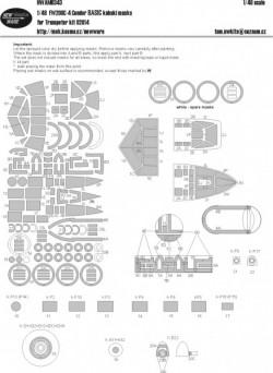 FW-200C-4 Condor BASIC kabuki masks