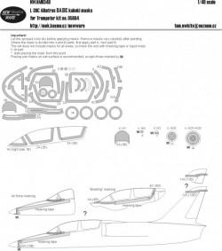 L-39C Albatros BASIC kabuki masks