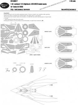 Lockheed F-117A Nighthawk ADVANCED masks