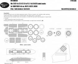 Me-262 B-1a/CS-92 (B-1a/U1, B-1a) BASIC kabuki masks
