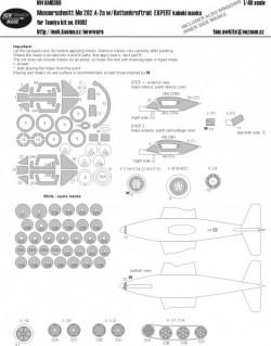 Messerschmitt Me 262 A-2a w/Kettenkraftrad EXPERT kabuki masks