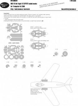 MiG-15 bis Fagot EXPERT kabuki masks