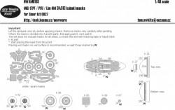 MiG-17PF / PFU / Lim-6M BASIC kabuki masks
