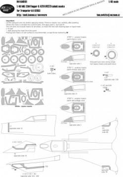 Mig-23M Flogger-B ADVANCED kabuki masks