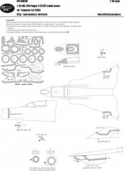 Mig-23M Flogger-B BASIC kabuki masks