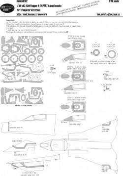 Mig-23M Flogger-B EXPERT kabuki masks