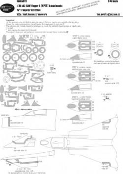MiG-23MF Flogger B EXPERT kabuki masks