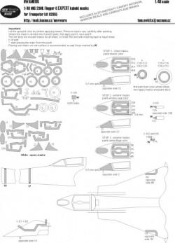 Mig-23ML Flogger-G EXPERT kabuki masks