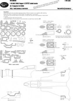 MiG-23MLD Flogger K EXPERT kabuki masks