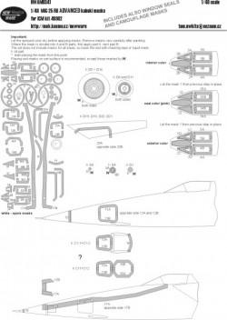 MiG-25 RB ADVANCED kabuki masks
