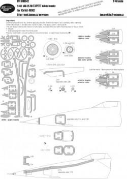 MiG-25 RB EXPERT kabuki masks