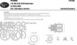 MiG-25 RBT BASIC masks