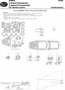 RF-4B Phantom II BASIC kabuki masks