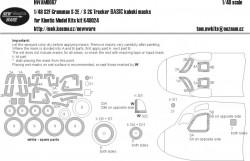 S2F Grumman S-2E / S-2G Tracker BASIC kabuki masks