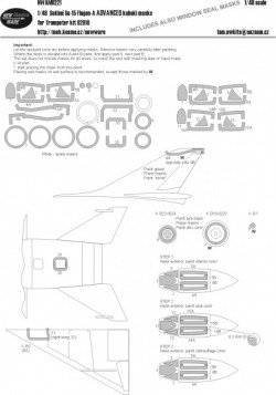 Su-15 Flagon-A ADVANCED kabuki masks