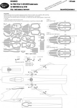 Su-17M4 Fitter-K ADVANCED kabuki masks