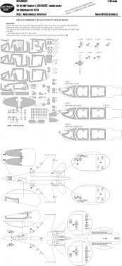 Su-30MKK Flanger G ADVANCED kabuki masks