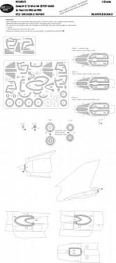 Suchoj SU-17/22 M3 or M4 EXPERT kabuki masks